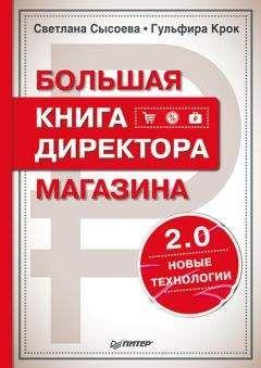 Светлана Сысоева - Большая книга директора магазина 2.0. Новые технологии
