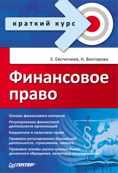 Евгений Евстигнеев - Финансовое право. Краткий курс