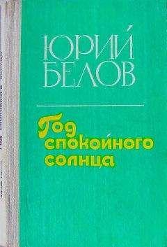 Юрий Белов - Год спокойного солнца